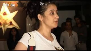 Manisha Koirala looks hot in white transparent top