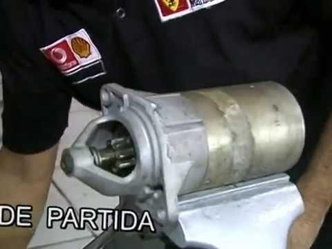 Montagem do Motor de Partida