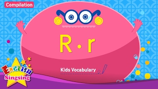 Kids vocabulary compilation - Words starting with R, r - Learn English for kids