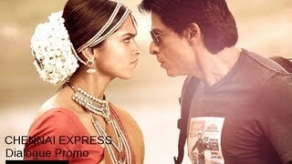 Chennai Express I Don't Underestimate The Power Of A Halwaayi!! Dialogue Promo