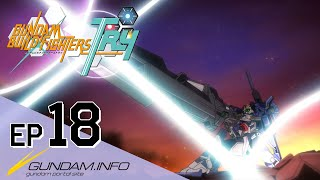 GUNDAM BUILD FIGHTERS TRY-Episode 18: Snibal-Drago-Gira  (ENG dub)
