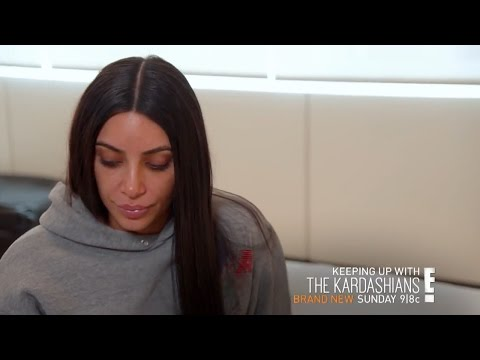 Kim Kardashian Deals With AFTERMATH Of Robbery In New KUWTK Promo & Still Struggles