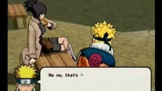 Naruto: Ultimate Ninja 3--Anko date 1