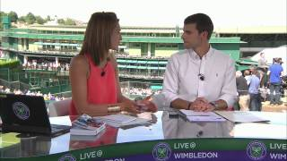 Live @ Wimbledon 2015 – Day 1