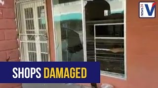WATCH: Shops looted and damaged in Coligny