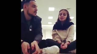 Iranian Girl & Boy Singing خانم خوش صدا هم رل زدند حالا با هم مي خونند