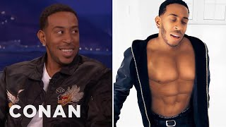 "Chris ""Ludacris"" Bridges On His CGI Abs  - CONAN on TBS"