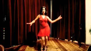 Andy Dokhtar Irooni -Dncer- Natasha رقص ایرانی HD