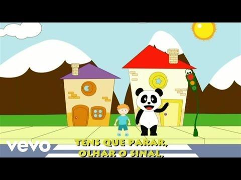 Panda vai à Escola Atravessar a Rua