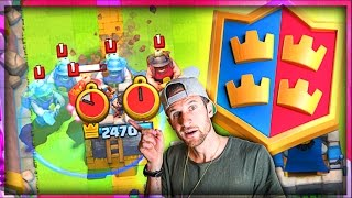 LOL! WATCH THIS 2v2 MATCH // Clash Royale