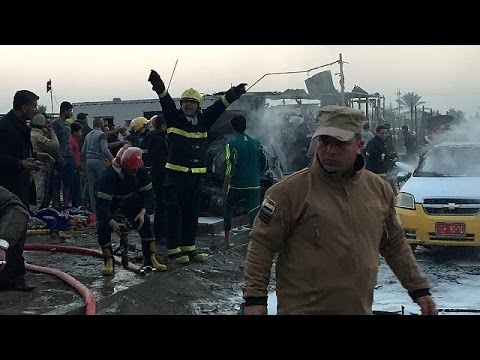 Al menos 15 personas mueren y otras 50 resultan heridas en un atentado suicida en Bagdad