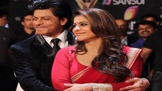 Shahrukh Khan & Kajol's CHEMISTRY @ Colors Stardust Awards 2015 | RED CARPET