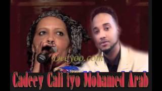 Hees Macaan Cadeey Cali iyo Mohamed Carab (Arab) IIMAANSO by Deeyoo Music