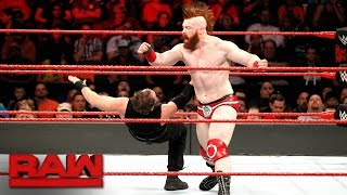 Dean Ambrose vs. Sheamus: Raw, Nov. 20, 2017