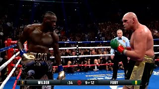 Tyson Fury Got ROBBED against Deontay Wilder ● HIGHLIGHTS