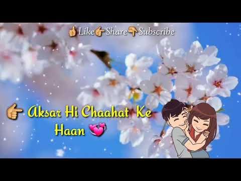 #Tera Hone Laga Hoon | Whatsapp Video Status | Hindi Lycirs