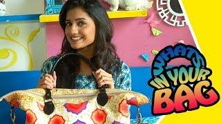 What's In Your Bag With Hruta Durgule | Marathi Actress | Zee Yuva Serial | Phulpakhru