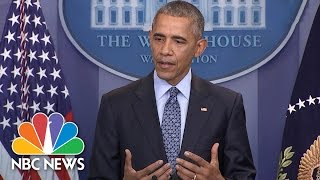 President Obama Shares Most Constructive Advice He's Given President-elect Trump | NBC News