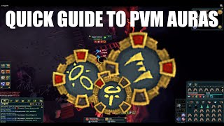 Runescape: Quick Guide to PvM Auras