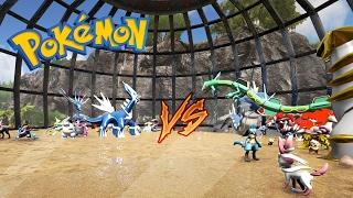 LE PLUS GRAND COMBAT POKEMON !! - Pokemon Ark ep.13