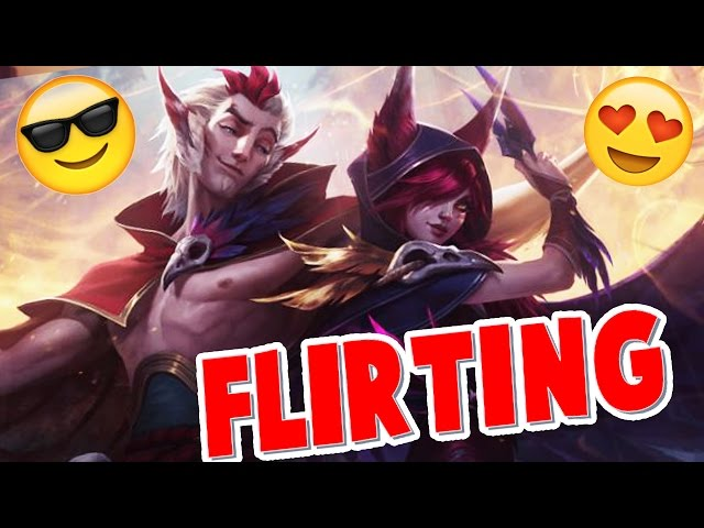 RAKAN and XAYAH FLIRTING with each other !!! and VOICE INTERACTIONS | #LeagueOfLegends
