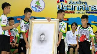 Thailand cave rescued boys speak of sadness and