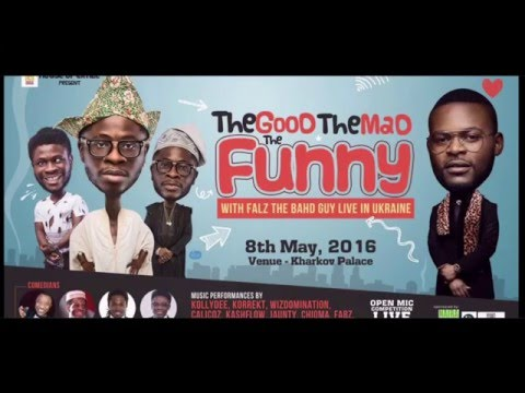 Comedy - The Touch || house of craze & Falz