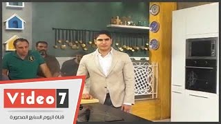 """بالفيديو..أبو هشيمة يتفقد استديوهات """"اون تى فى"""" للوقوف على استعدادات رمضان"""