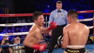 Takashi Miura  vs. Mickey Roman: BAD Highlights (HBO Boxing)