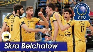 [Points] SKRA BELCHATOW vs. Lokomotiv Novosibirk | CEV 2017