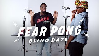Blind Dates Play Fear Pong (Malik vs. Akunna)   Fear Pong   Cut