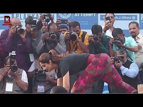 Xxx Mp4 Shilpa Shetty Take Yoga To Achieve New Guinness World Record With Plankathon 3gp Sex