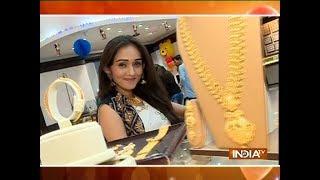 TV actress Tanya Sharma does Dhanteras shopping