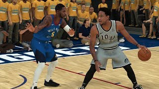 Denver Nuggets vs San Antonio Spurs – Game 1 NBA Playoffs 2019 Full Game  NBA 2K19 4/13/19