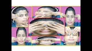 (Do it yourself)DIY Face Massage Lik Beauty Parlour get Youthful Skin\3 Massage Tips Trick in Hindi