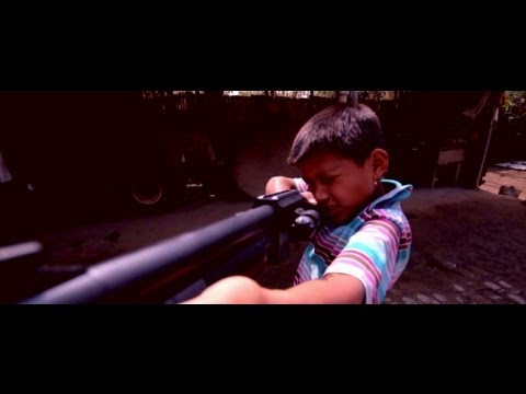 Guns and Kids in Manipur (Slo-mo Test)