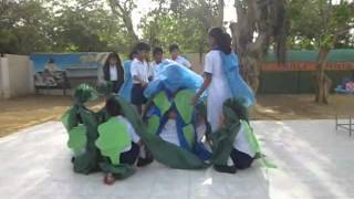 CELEBRATION OF EARTH DAY, GRADE IV STUDENTS OF BSS, STEEL TOWN  .wmv