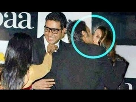 Caught: आप हैरान होजाओगे Aishwarya Rai & Ajay Devgan का lip Kissing हो गया काजोल और अभिषेक भी थे !
