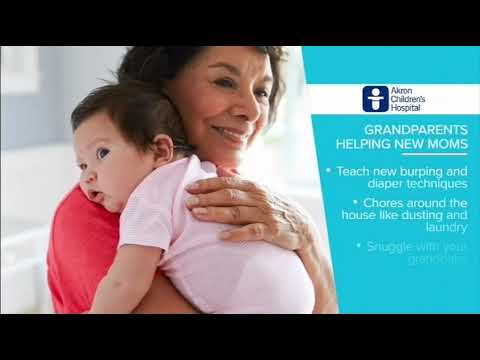 How grandparents can help breastfeeding mom and newborn