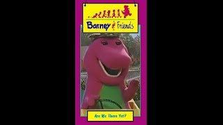 Opening & Closing to Barney & Friends: Are We There Yet? 1996 Time Life VHS (Fanmade)