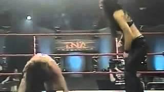 NWA TNA Weekly PPV #38   Alexis Laree Mickie James vs Trinity