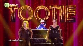 Arabs Got Talent- عرض النصف نهائيات – أبانوب فلكس