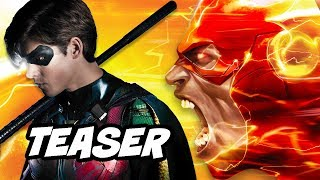 Titans Young Justice Season 3 Teaser Trailer and The Flash War Explained