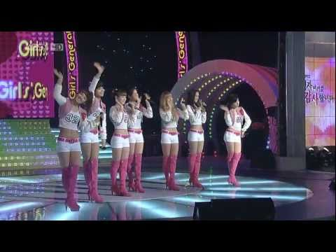 HD SNSD - Oh! (without Yuri Sunny) Mar03.2010 GIRLS' GENERATION Live 720p