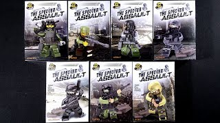 LEGO The Specter Assault Military Army Soldier Minifigures (bootleg / knock-off)