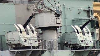 Die HMS Belfast C35 ist britisches Kriegsschiff Imperial War Museums Themse London thames