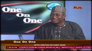One on One with Keyamo