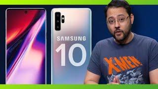 Samsung Galaxy Note 10 design leaks