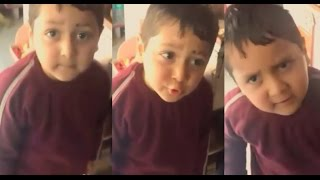 A Child is Cursing marriages in Pakistan | Funny Video