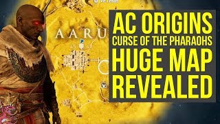 Assassin's Creed Origins Curse of the Pharaohs Map REVEALED (AC Origins Curse of the Pharaohs Map)